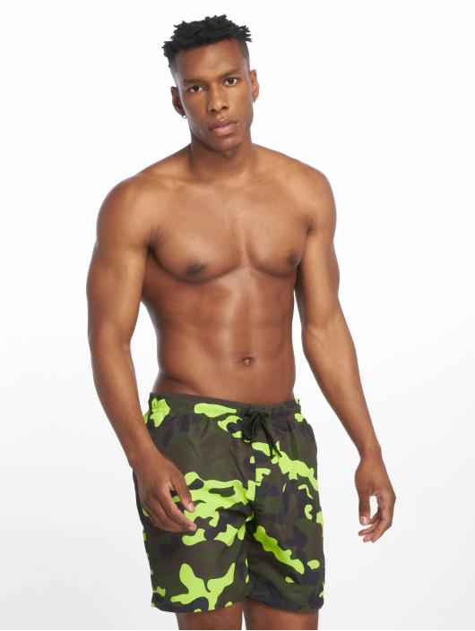 Urban Classics Swim shorts Camo camouflage