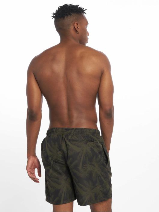 Urban Classics Swim shorts Pattern green
