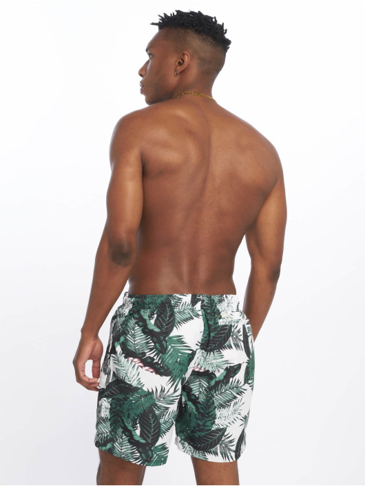 Urban Classics Swim shorts Pattern  green