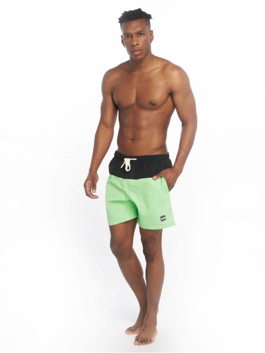 Urban Classics Swim shorts Block green