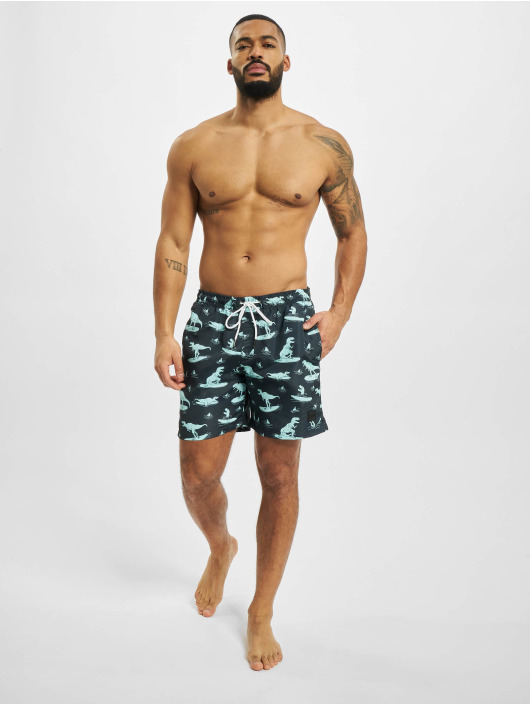 Urban Classics Swim shorts Pattern indigo