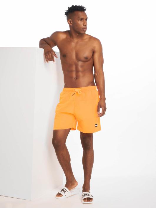 Urban Classics Swim shorts Block orange