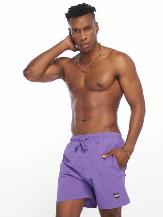 Urban Classics Swim shorts Block purple