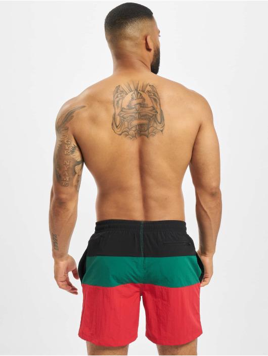 Urban Classics Swim shorts Color Block red