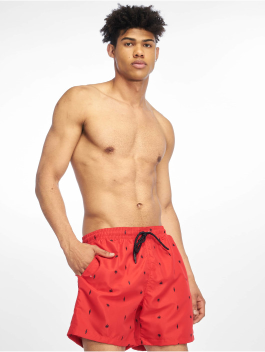 Urban Classics Swim shorts Embroidery Swim red