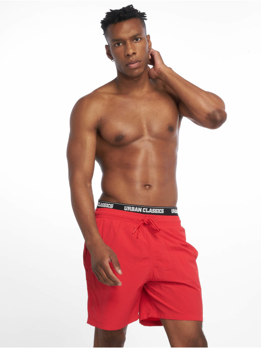 Urban Classics Swim shorts Two In One red