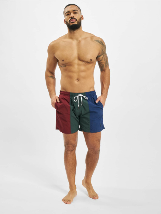 Urban Classics Swim shorts 3-Tone red