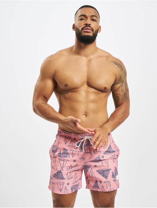 Urban Classics Swim shorts Pattern rose