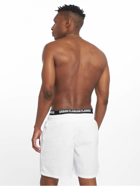 Urban Classics Swim shorts Two In One white