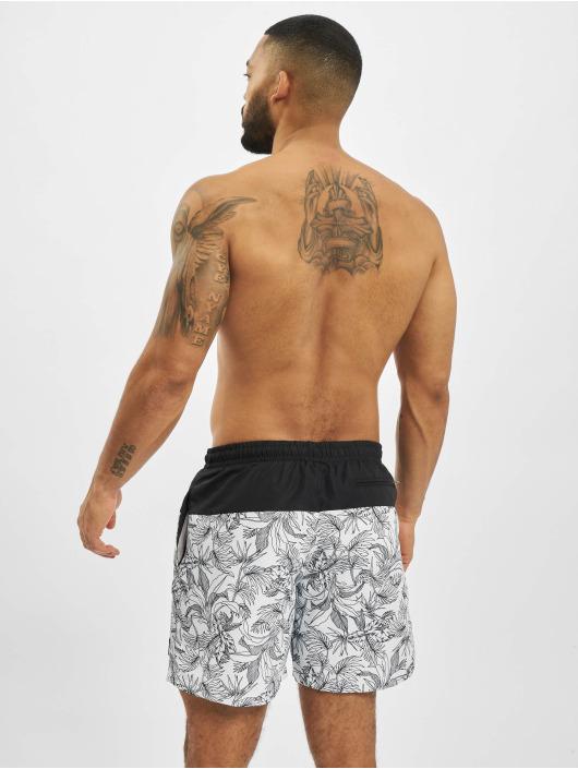 Urban Classics Swim shorts Low Block Pattern white