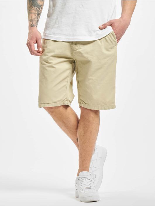 Urban Classics Szorty Straight Leg Chino With Belt bezowy