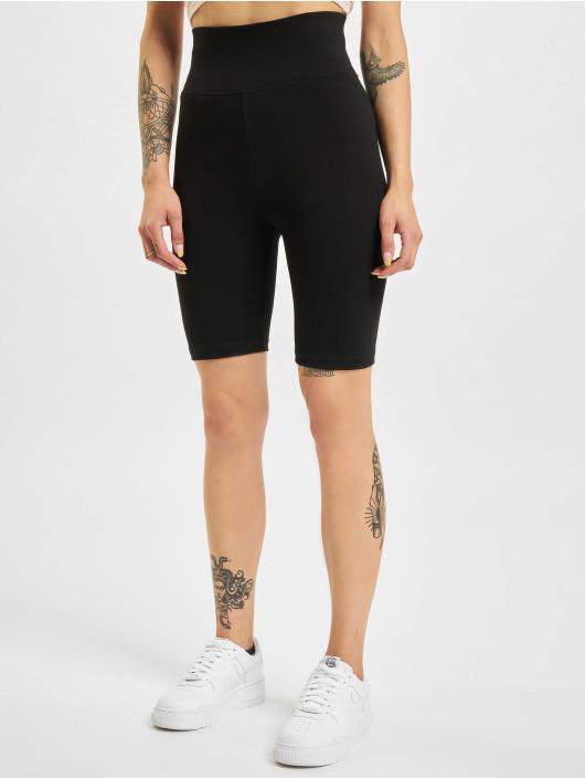Urban Classics Szorty Ladies High Waist Cycle 2-Pack czarny