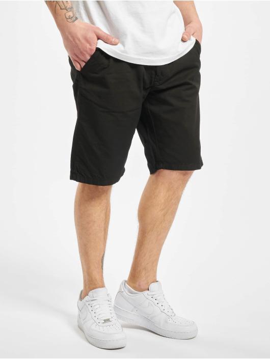 Urban Classics Szorty Straight Leg Chino With Belt czarny