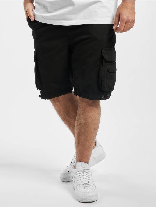 Urban Classics Szorty Double Pocket czarny