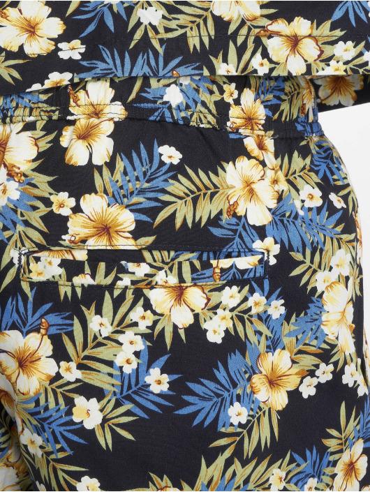 Urban Classics Szorty Pattern Resort niebieski