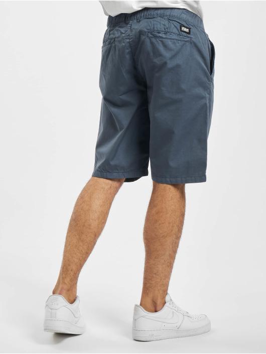 Urban Classics Szorty Straight Leg Chino With Belt niebieski