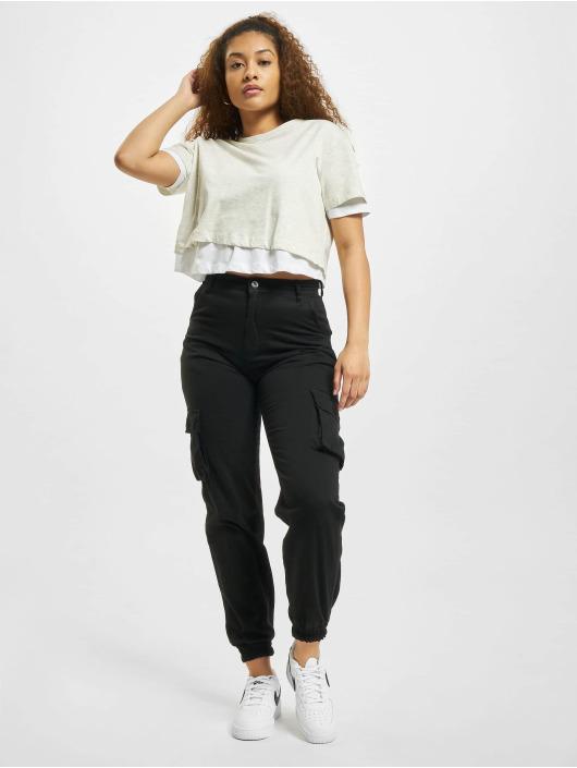 Urban Classics T-paidat Full Double Layered harmaa