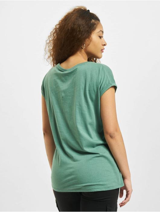 Urban Classics T-paidat Extended Shoulder keltainen