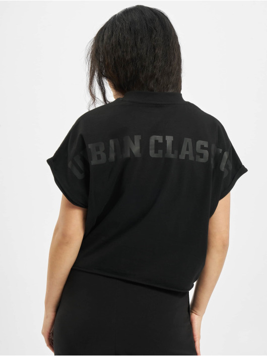 Urban Classics T-paidat Short Oversized Cut On Sleeve musta