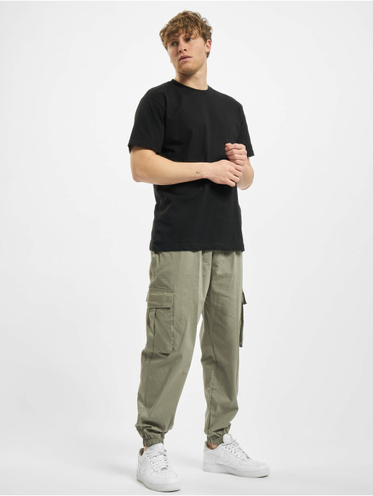 Urban Classics T-paidat Basic 6-Pack musta