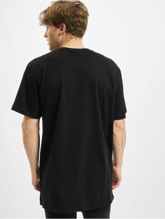 Urban Classics T-paidat Big Logo Oversized Tee musta