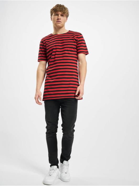 Urban Classics T-paidat Stripe Tee punainen