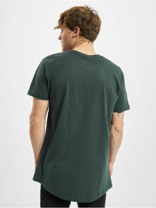 Urban Classics T-paidat Shaped Long vihreä