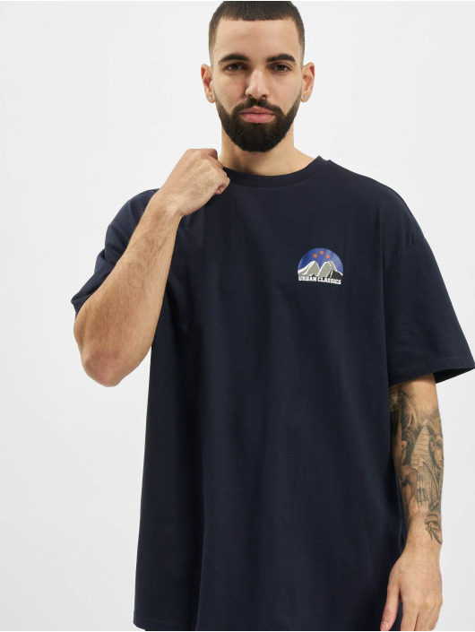 Urban Classics T-shirt Horizon Tee blå