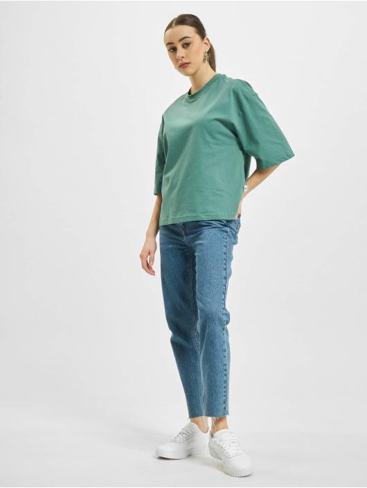 Urban Classics T-shirt Organic Oversized blå