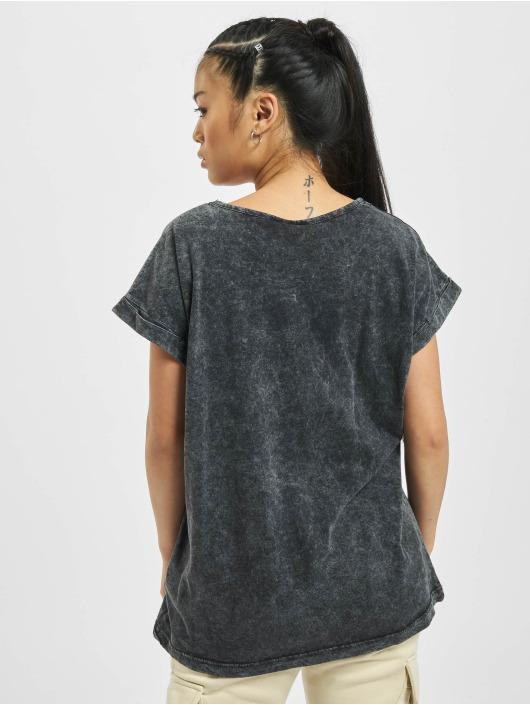 Urban Classics T-Shirt Random Wash Extended black