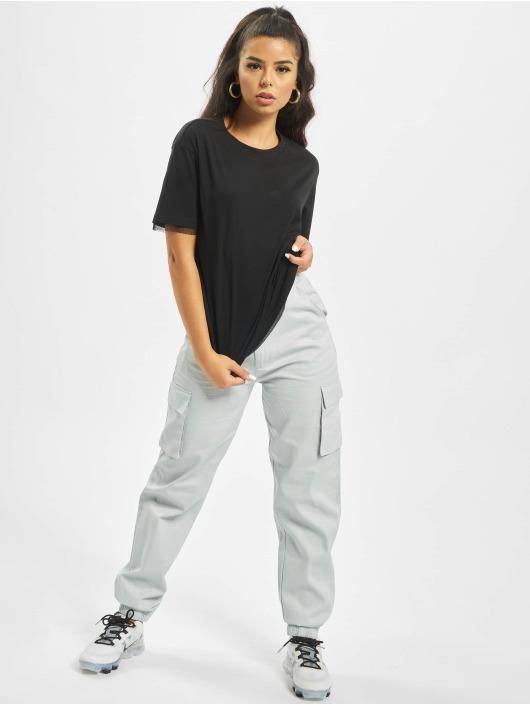 Urban Classics T-Shirt Boxy Lace black
