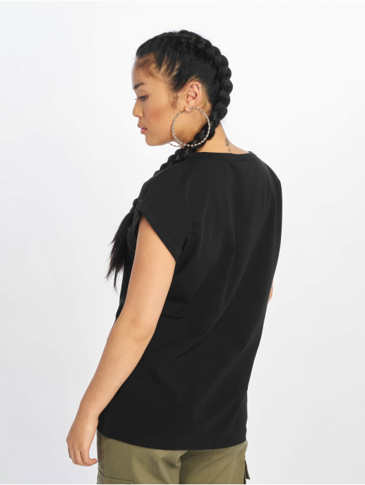 Urban Classics T-Shirt Extended Shoulder black