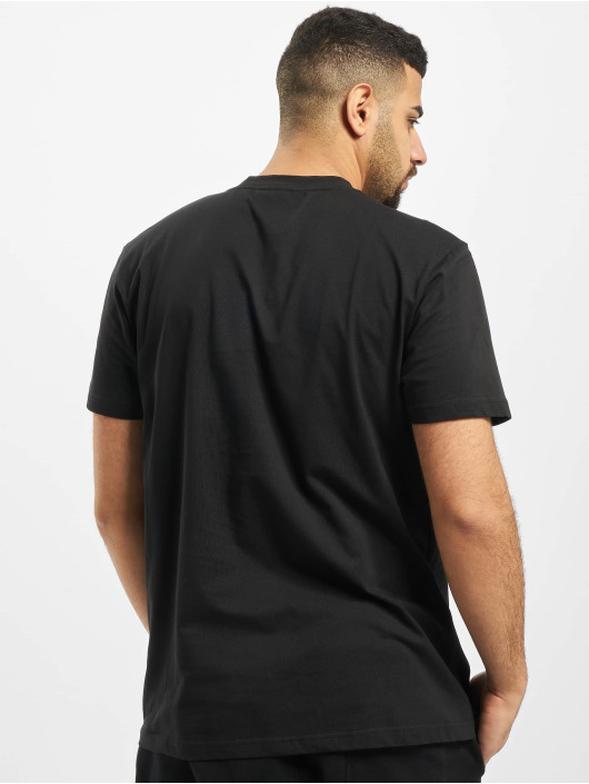 Urban Classics T-Shirt Military Shoulder Pocket black