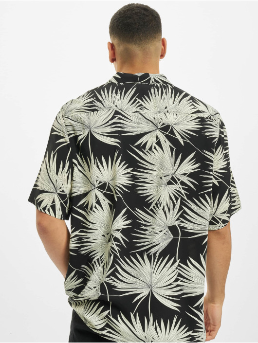 Urban Classics T-Shirt Frond Resort black
