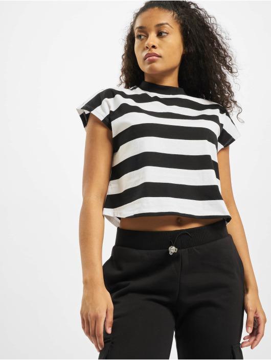 Urban Classics T-Shirt Stripe Short black