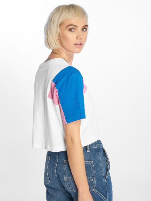 Urban Classics T-Shirt 3-Tone Short Oversize blanc