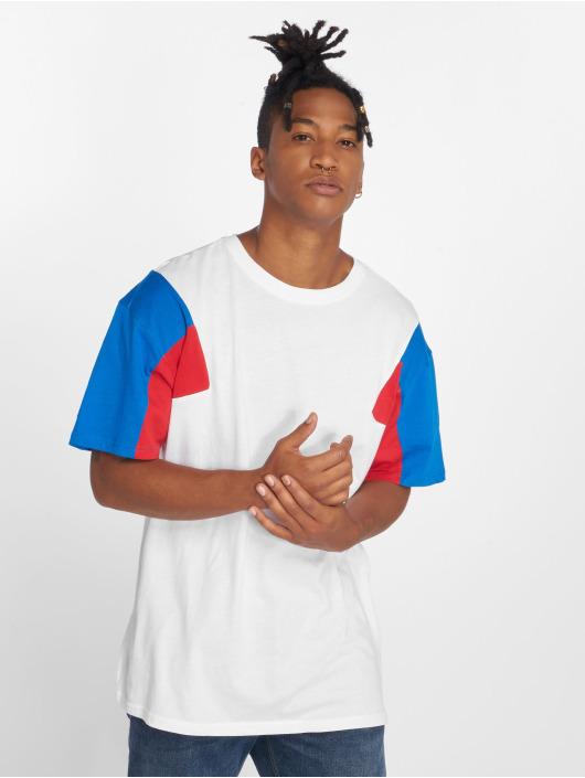 Urban Classics T-Shirt 3-Tone blanc