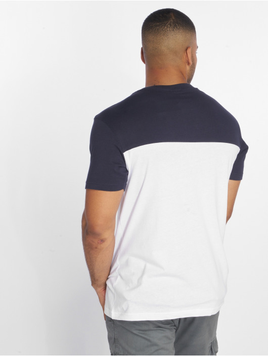 Urban Classics T-Shirt 3-Tone Pocket blanc