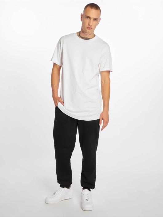 Urban Classics T-Shirt Short Shaped Turn Up blanc