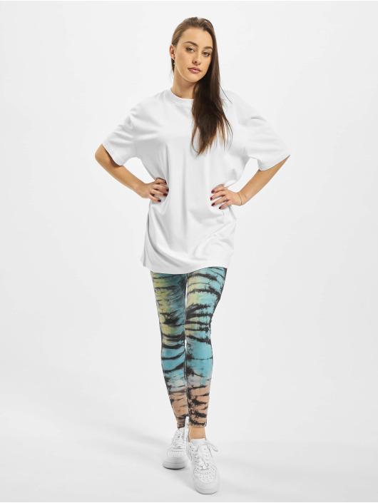 Urban Classics T-Shirt Ladies Oversized Boyfriend blanc