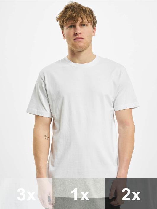 Urban Classics T-Shirt Basic 6-Pack blanc