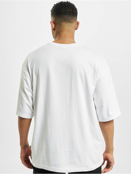 Urban Classics T-Shirt Big Double Pocket blanc