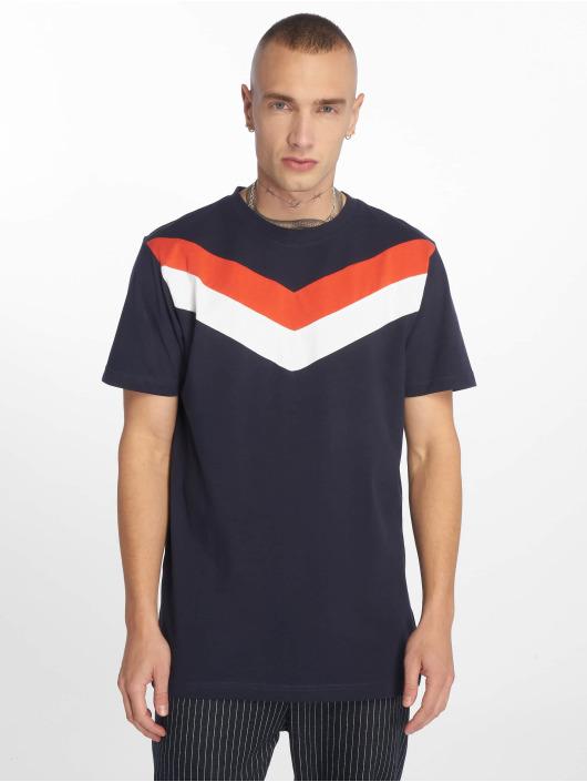 Urban Classics T-Shirt Arrow Panel blau