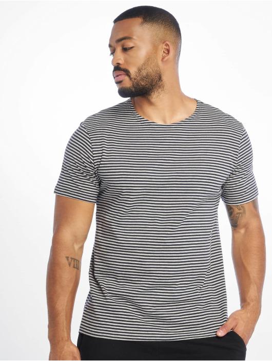 Urban Classics T-Shirt Yarn Dyed Baby Stripe blau
