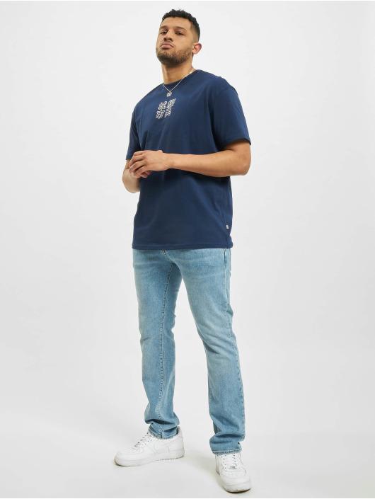 Urban Classics T-Shirt Chinese Symbol blau