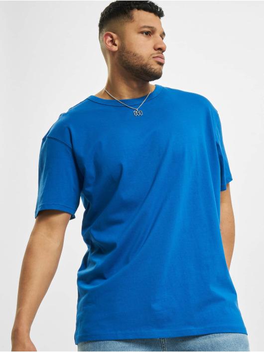 Urban Classics t-shirt Oversized blauw