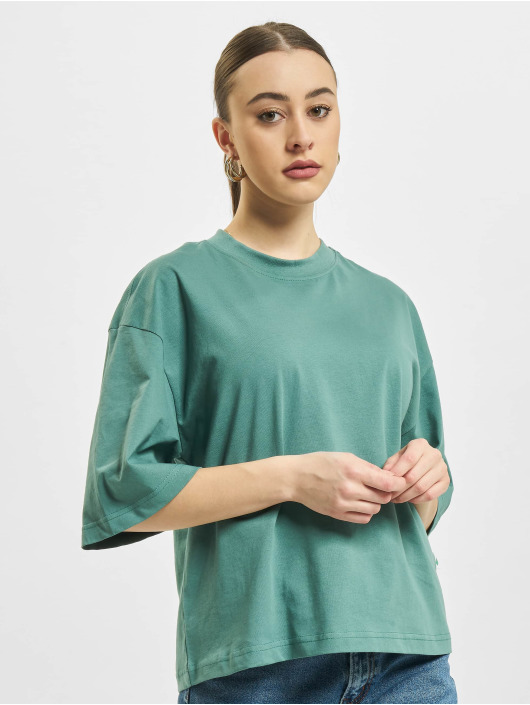 Urban Classics t-shirt Organic Oversized blauw