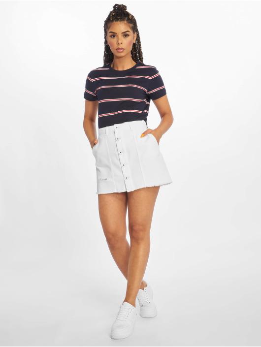 Urban Classics T-Shirt Yarn Dyed Skate Stripe bleu