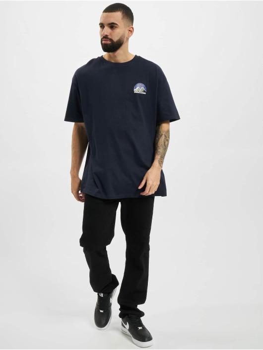 Urban Classics T-Shirt Horizon Tee blue