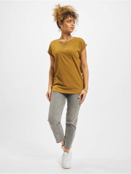 Urban Classics T-Shirt Extended braun